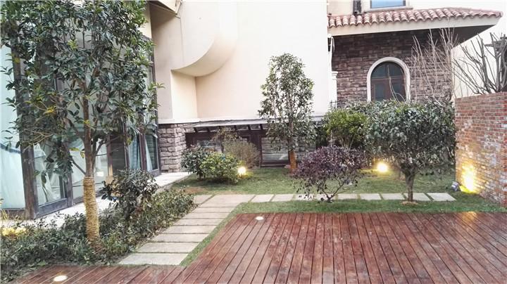 天著別墅,美式花園效果圖